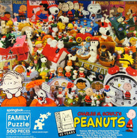 45th Anniversary Peanuts Gang Collectibles Jigsaw Puzzle