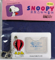 Snoopy and Woodstock Photo Key Chain