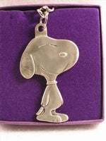 SNOOPY PEWTER Key Chain