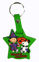 Peanuts Halloween Vinyl Key Chain - Lucy and Snoopy