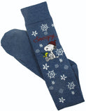 Snoopy Snowflakes Knee Socks