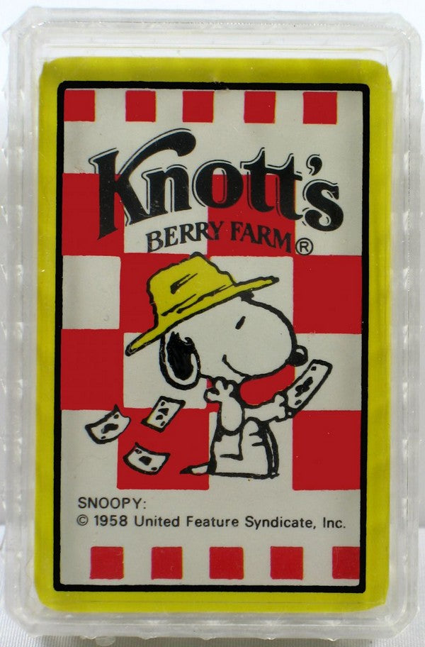 Knott's Berry Farm Mini Playing Cards