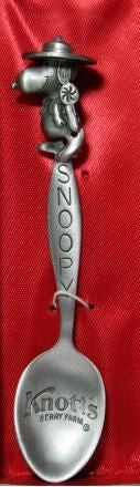 Snoopy Beaglescout Pewter Collector's Spoon