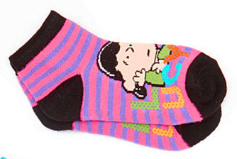 Kids Lucy Low-Cut Socks  (Size 6 - 8 1/2)