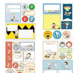 Peanuts Labels and Stickers Book
