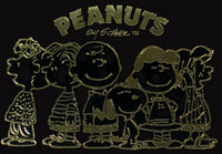 Merrick Mint Laser Line Gold Card - The Peanuts Gang