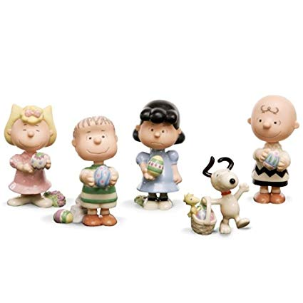 Lenox Peanuts It's The Easter Beagle Figurine Set
