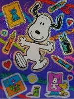 Super-Sized Snoopy Stickers - Over 6
