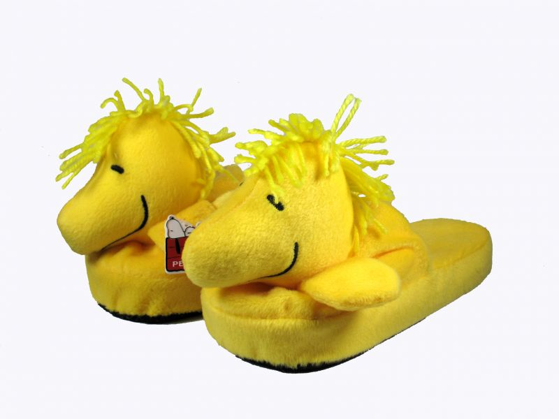 Woodstock Plush Slippers - Large