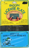 FLYING ACE Tin License Plate