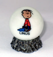 Peanuts Classic White Glass Marble - Linus