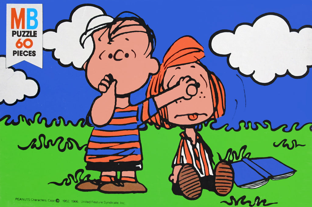 Linus and Peppermint Patty Vintage Jigsaw Puzzle