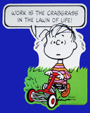 Peanuts Double-Sided Wall Decor - Linus Mowing Yard