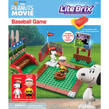 Peanuts Movie Lite Brix Set - Baseball Game