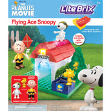 Peanuts Movie Lite Brix Set - Flying Ace