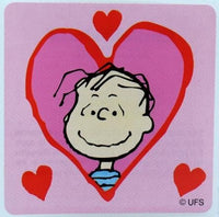 Linus Valentine's Day Sticker