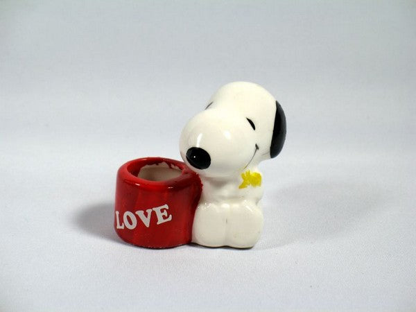 Snoopy Love Ceramic Pen/Pencil Holder