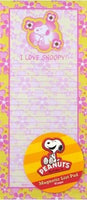 Snoopy Magnetic Note Pad -