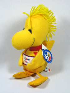 50th Anniversary Woodstock Plush Squeaker Doll - I Love You