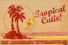 """Tropical Cutie"" RUBBER STAMP"