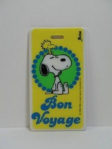 Bon Voyage Luggage Tag (NO Strap)