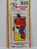 Snoopy Butler Luggage Tag