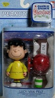 Lucy Psych. Figure - Charlie Brown Christmas Memory Lane