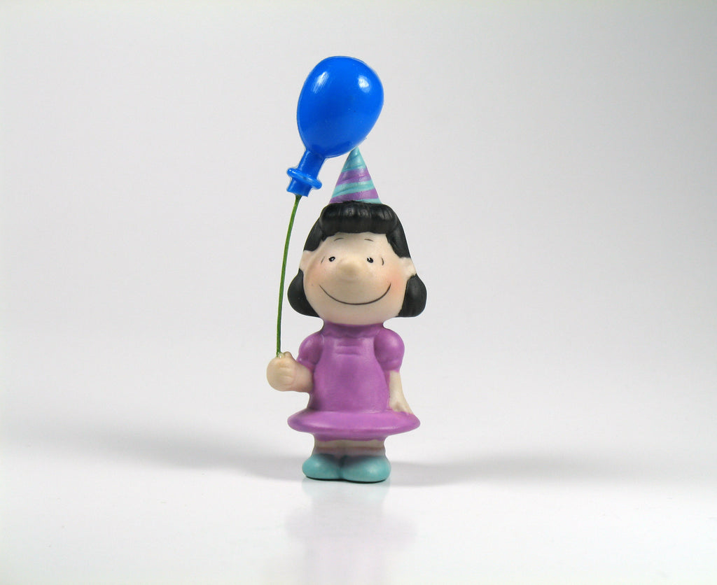 Peanuts Mini Porcelain Party Figurine - Lucy