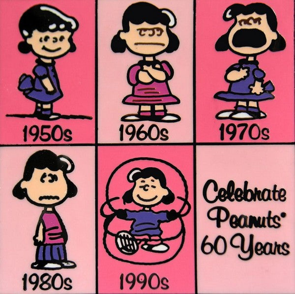 Peanuts 60th Anniversary Pin - Lucy
