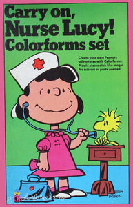 Carry On Nurse Lucy! Colorforms Set