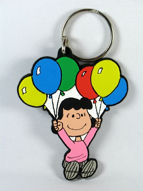 Lucy With Balloons Key Chain