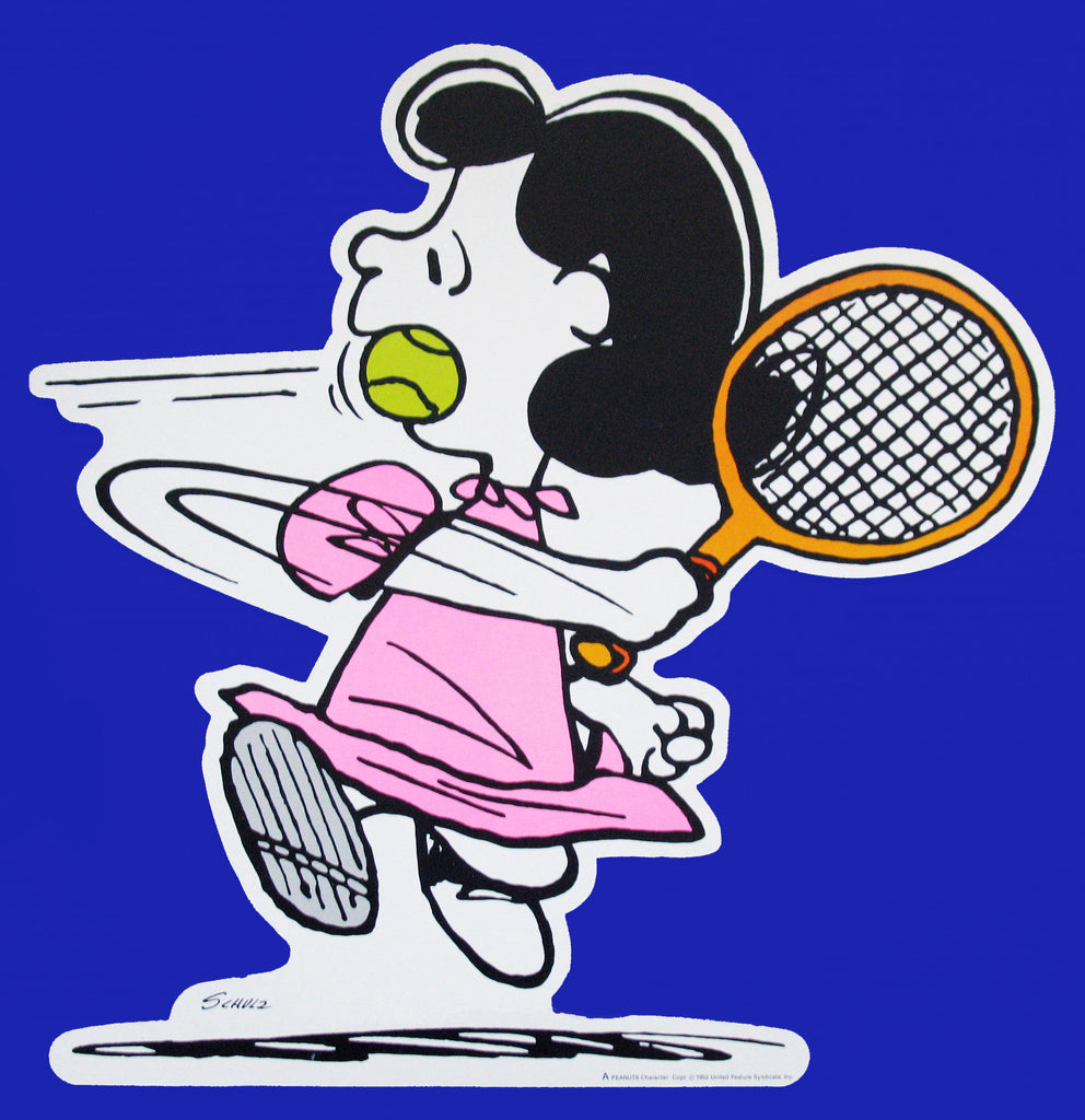 Peanuts Double-Sided Wall Decor - Lucy Tennis Player