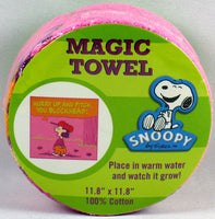 Magic Expandable Wash Cloth - Lucy Playing Baseball