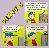 Peanuts Comics Panel Acrylic Magnet - Charlie Brown
