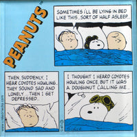 Peanuts Comics Panel Acrylic Magnet - Sleep Over