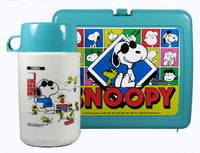 Joe Cool Lunch Box With Thermos Bottle