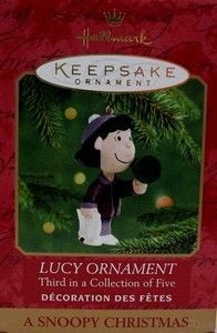 2000 SERIES #3 CHRISTMAS ORNAMENT - LUCY
