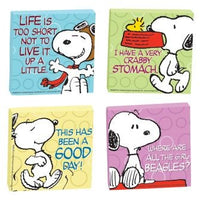 Snoopy Super Strong 4-Piece Magnet Set