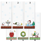 Snoopy Magnetic Note Pad - Christmas Traditions
