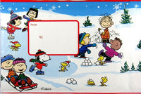Peanuts Gang Christmas Bubble Mailing Envelope - Small