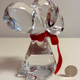 Snoopy Marcolin Crystal Figurine