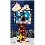 Snoopy On Mailbox Lighted Yard Decor