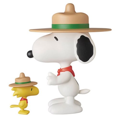 Medicom Peanuts Ultra Detail Figure - Beagle Scouts Snoopy and Woodstock