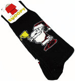 Men's Dress Socks - Snoopy Santa