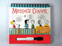 Peanuts Dry Erase Message Center Book