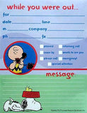Charlie Brown and Snoopy Message Pads (2 Pack)