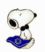 Met Life Snoopy Salesman Cloisonne Pin (Near Mint)