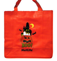 Met Life Eco-Friendly Reusable Halloween Tote Bag