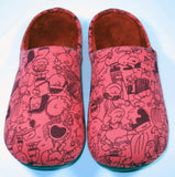 Snoopy Unisex Slippers With Memory Foam