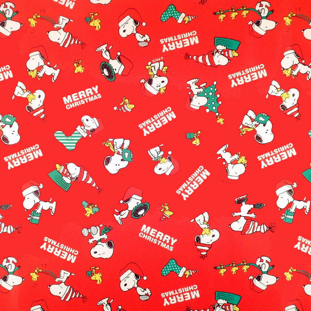 Snoopy Mini Gift Wrap Roll - Christmas